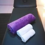 Foto de camilla de fisioterapia